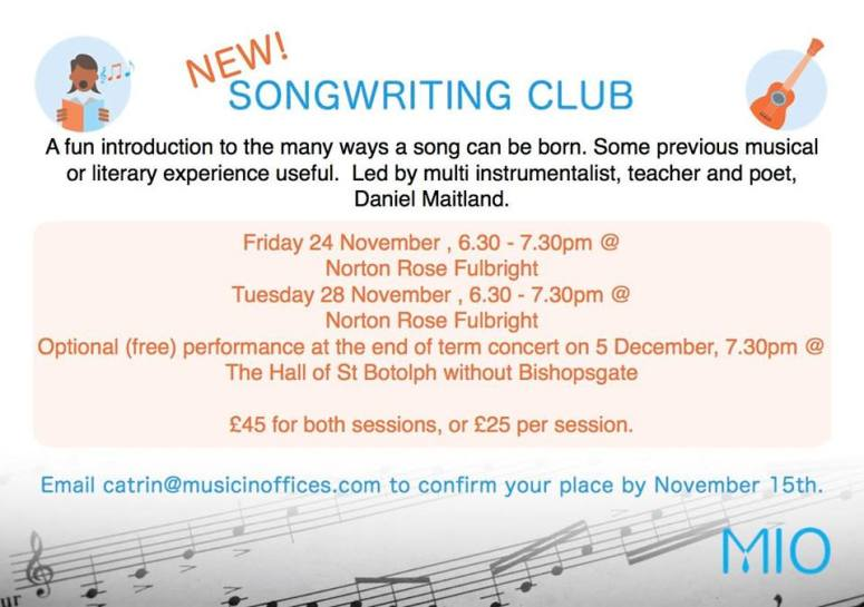 songwriting course 2